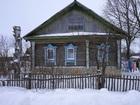 Скачать foto Загородные дома Бревенчатый жилой дом в деревне, с хорошим подъездом, 280 км от МКАД 38959013 в Москве