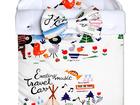 Скачать бесплатно фото Товары для новорожденных Конверт на выписку Futurmama Happy Kamping 39325211 в Москве
