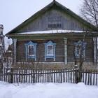 Бревенчатый жилой дом в деревне, с хорошим подъездом, 280 км от МКАД