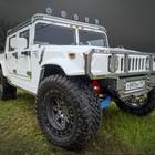 Продается тюнингованый белый Хаммер (Hummer) H1 Ramsmobile ART-Series 001