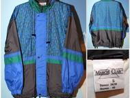 Ветровка-дождевик из 90-х «Marcel Clair», Реальный винтаж Ветровка-дождевик из 9