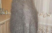 Оренбургский пуховый платок, Белые и серые