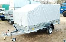 Прицеп легковой 3,5х1,4м, Трейлер для перевозки квадроцикла, снегохода