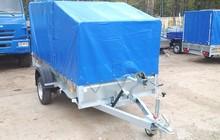 Прицеп легковой 3,2х1,4м, Трейлер для перевозки квадроцикла, снегохода