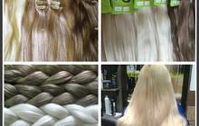 Волосы для наращивания, Натуральные волосы