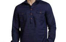 Мужские льняные рубашки оптом
