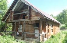 Дом брус ПМЖ,  130 м, в лесу, г, Москва