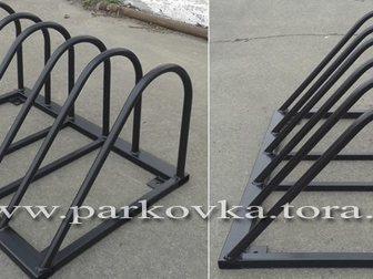 Смотреть изображение  Велосипедные парковки, велопарковки, вело-мото парковки 32593351 в Москве
