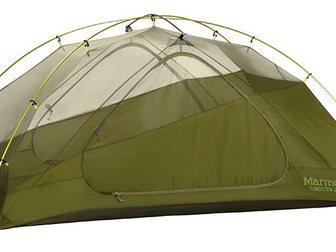 Просмотреть фото Товары для туризма и отдыха Палатка Marmot Tungsten 2P (зеленая) 33743430 в Москве