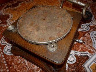 Увидеть фотографию Антиквариат Продам старинный Граммофон 34520600 в Москве