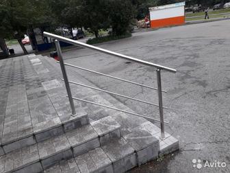 Уникальное foto  Ограждения из нержавеющей стали, Перила 69357176 в Moscow