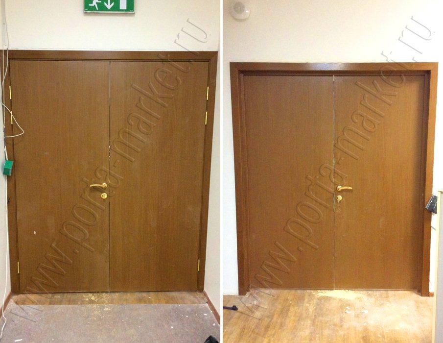 поставить металлических дверей от завод изготовитель