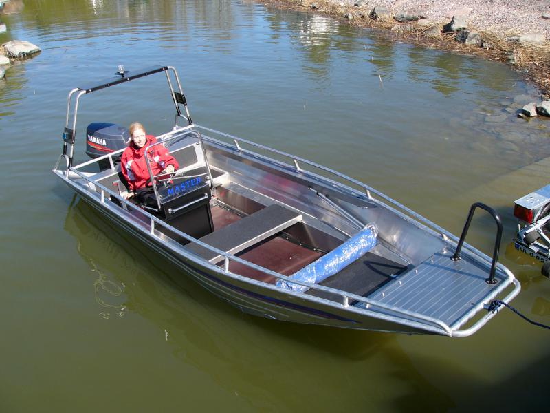 как сделать алюминиевую лодку под мотор