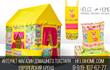 Детский деревянный домик для дачи купить.