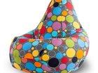 Смотреть foto  Продажа и аренда бескаркасной мебели (кресло мешки, пуфики, бин беги) 32467060 в Москве