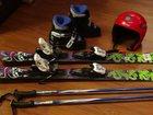 Фото в Спорт  Спортивный инвентарь Детские горные лыжи, в комплекте (лыжи, палки, в Саяногорске 15000