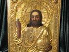 Смотреть фотографию  ИКОНА Исус Христос Вседержитель конец 18 начало19 века 32662835 в Новороссийске