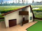 Фотография в   Небольшой уютный загородный дом с гаражом в Омске 10000