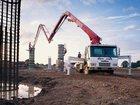 Изображение в   От: 14000 за смену  Длина стрелы бетононасоса в Москве 14000