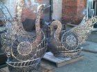 Изображение в Мебель и интерьер Другие предметы интерьера Креативная скульптурная композиция из металлаДва в Краснодаре 0