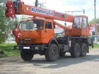 Смотреть фото Спецтехника Аренда автокрана вездеход 25 тонн в г, Приморске 34007849 в Приморске