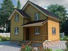 Изображение в   Продается дом из бруса по проекту «Эдельвейс». в Москве 0