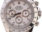 Изображение в   Часы Rolex Daytona серебряные, белый циферблат в Москве 2999