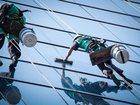 Фото в Услуги компаний и частных лиц Разные услуги Мойка вертикальных стекол: от 34 руб. / кв. в Москве 35