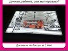 Фотография в Бытовая техника и электроника Телевизоры Картина и ночник 2 в 1, Днем сочная картина, в Санкт-Петербурге 0