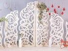 Фото в   Свадебная ширма/стеночка ажурная из дерева в Краснодаре 24900