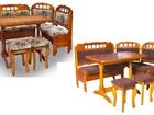 Свежее изображение Кухонная мебель Кухонный уголок Грация (массив) 35458757 в Москве