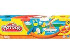 Скачать фото Разное Play-Doh набор из 4 баночек пластилина для лепки, 37351392 в Москве