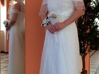 Уникальное фото Свадебные платья Свадебное, силуэт прямой, завышенная талия 37720220 в Москве