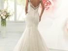 Фото в   Шикарное, кружевное свадебное платье облегающего в Москве 32000
