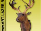 Скачать бесплатно foto  Голова оленя на стену, голова лося из дерева, подарочные наборы для самостоятельной сборки 38276855 в Астрахани