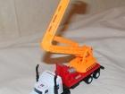 Новое изображение Детские игрушки Грузовая машина с металлической кабиной и подъемником инерционная 38588494 в Москве