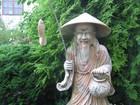 Новое изображение Антиквариат, предметы искусства Скульптура статуя мрамор розовый выс, 1 метр Рыбак 38635648 в Москве