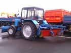 Смотреть foto Трактор Машина коммунальная МК, 02 (г/п отвал, щетка) на шасси Беларус 82, 1 38665433 в Москве