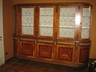 Уникальное фотографию Мебель для гостиной Книжный шкаф инкрустация перламутром и бронзой, фабрика СP, Италия 38729135 в Москве