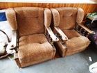Смотреть foto Мягкая мебель Два мягких кресла с подлокототниками на дачу дешево 38729205 в Москве