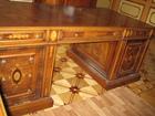 Свежее фото Офисная мебель Письменный стол Genoveva Испания модель MA42/506 с кожей Dakota 38729436 в Москве