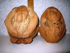 Скачать бесплатно фотографию Коллекционирование Статуэтки фигурки обезьянки из кокосового ореха, копилки, сувенир, подарок 38767733 в Москве