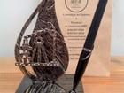 Фото в Мебель и интерьер Другие предметы интерьера Письменный набор Для Нефтянника  выполнен в Москве 4500
