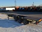Уникальное foto Транспорт, грузоперевозки Полуприцеп контейнеровоз Тонар 974623 39149133 в Москве