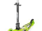 Скачать изображение Разное Самокат трехколесный складной светящиеся колеса регулируемый руль Small Rider Randy Flash зеленый 39232295 в Москве