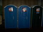 Фото в   Туалетная кабина торговой марки EcoGR эксплуатировалась в Москве 7000