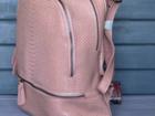 Увидеть изображение  Новые качественные кожаные рюкзаки, Трендовые модели 2017 39460589 в Москве