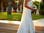 Увидеть изображение Свадебные платья Продам элегантное брендовое свадебное платье в стиле рыбка, 40256014 в Москве