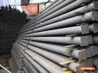 Уникальное фотографию  Столбы металлические от производителя 53937599 в Волгограде