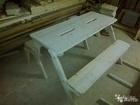 Свежее foto Мебель для дачи и сада Продам лавка-стол трансформер 61248669 в Москве